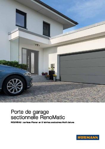 porte sectionnelle RENOMATIC